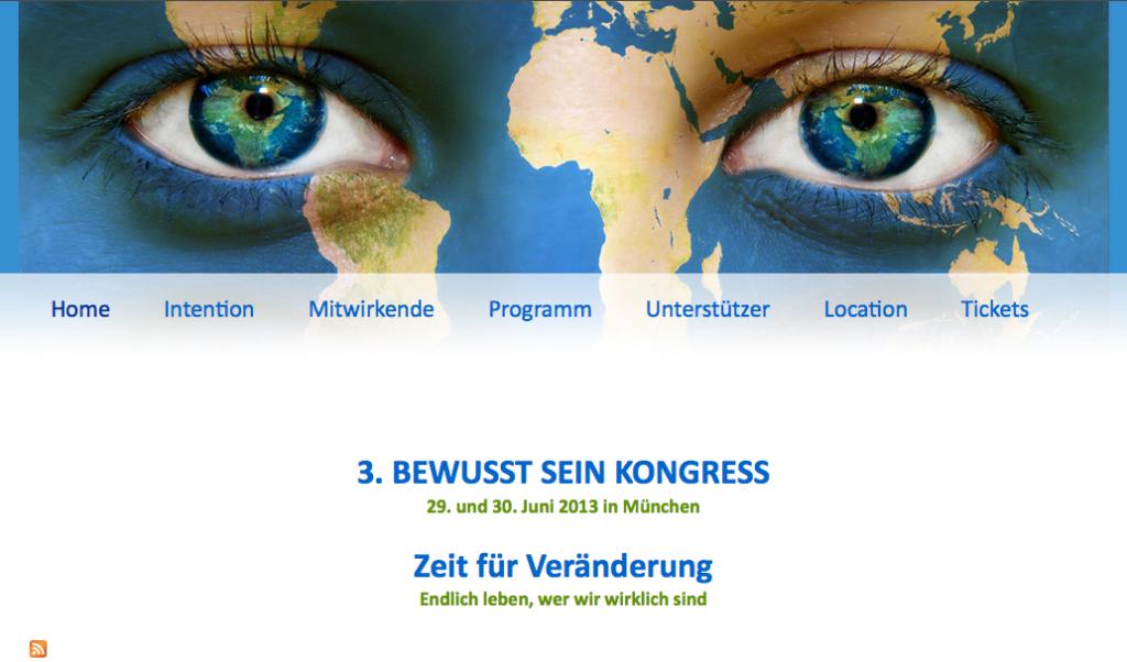 3. BEWUSST SEIN KONGRESS in München