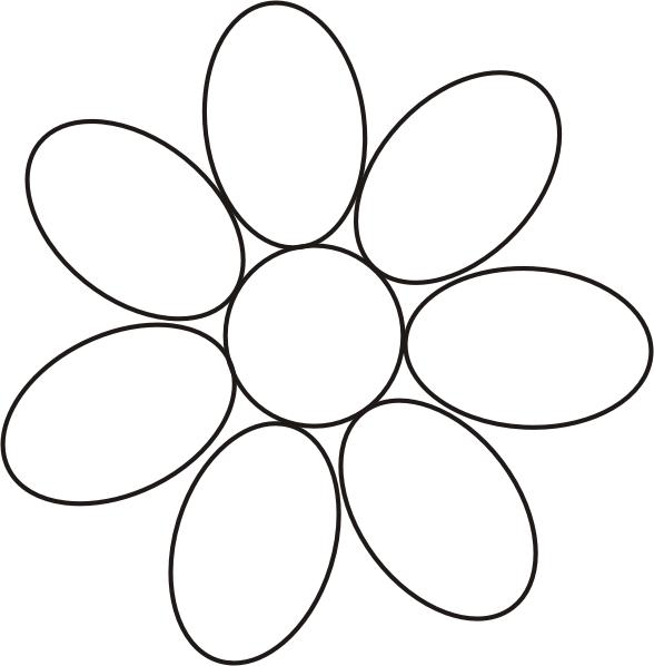 Vorlage Blume Bewusstsein