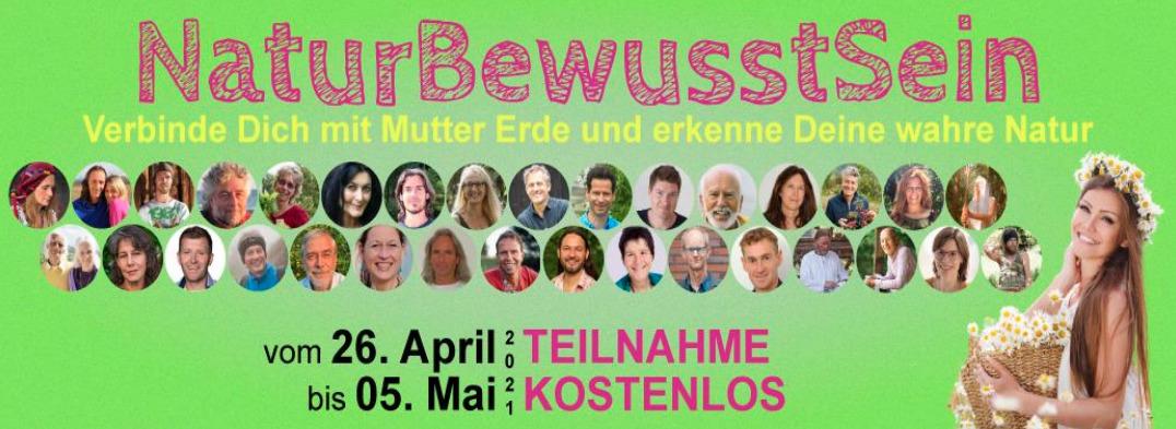 Naturbewusstsein-Online-Kongress Banner